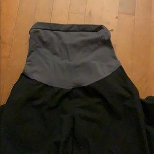 Pants - Maternity work pants - dark gray
